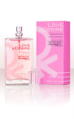 Love & Desire per Donna 100 ml EdP con feromoni